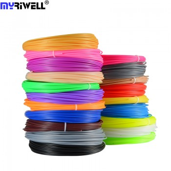 Набор пластика PLA для 3D ручек 140 метров (14 цветов по 10 метров)