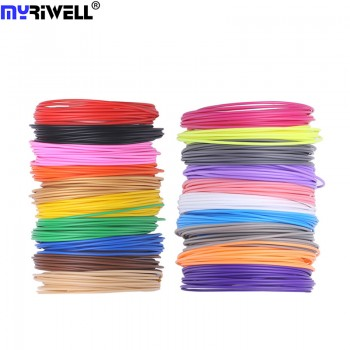 Набор пластика PLA для 3D ручек 210 метров (14 цветов по 15 метров)
