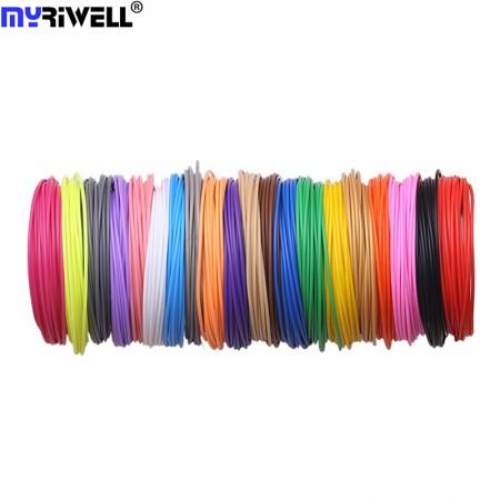 Набор пластика PLA для 3D ручек 280 метров (14 цветов по 20 метров)